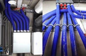 Ventilatiekanalen en ventilatiebuizen voor het ventileren van een duurzame woning