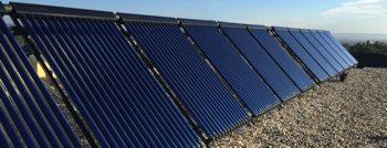 Zonnecollectoren of zonneboilers